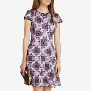 Ted Baker Purple dress Floral